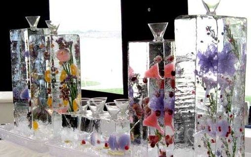 Brilliant Ice Sculpture - Specialty Drink Luges