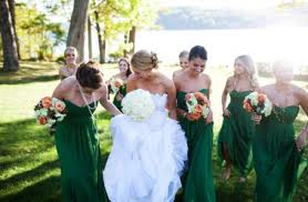 Style Inspiration and Design Emerald Green Bridesmaid Dress Inspiration