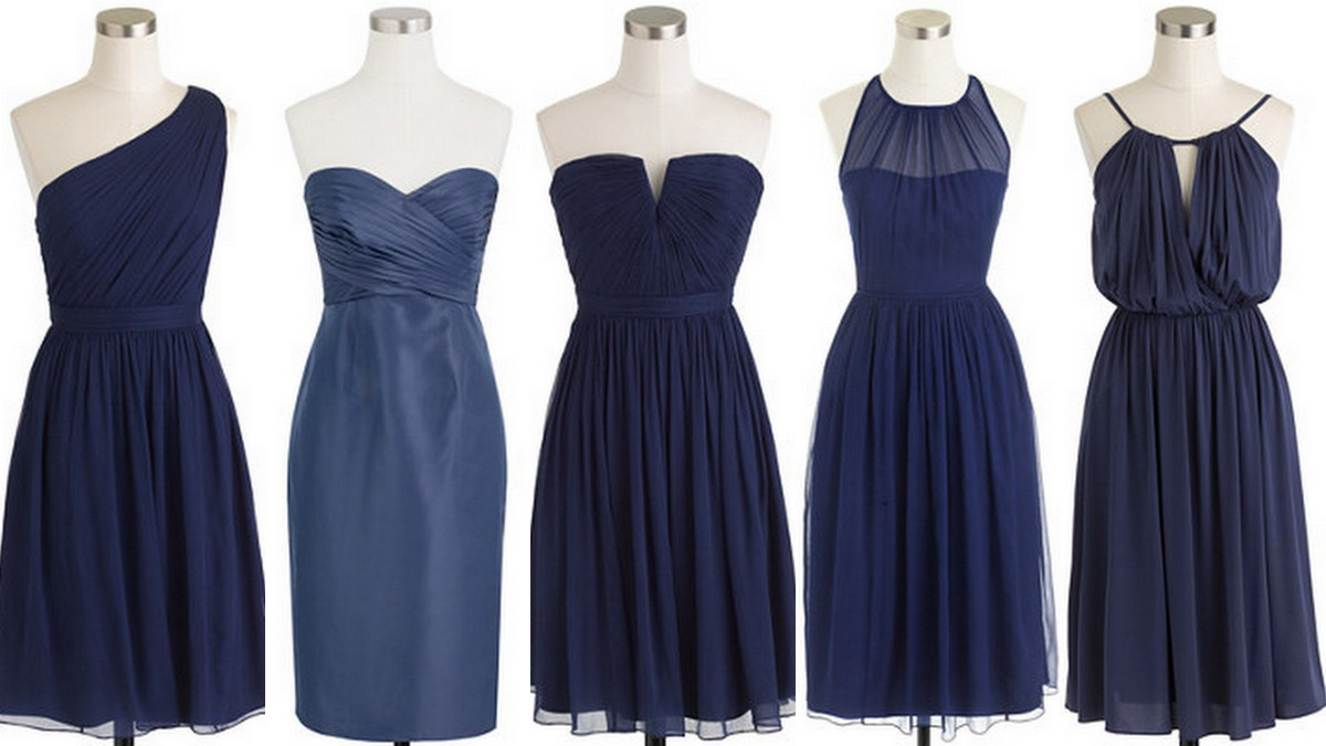 Monaco Blue Bridesmaid Dresses