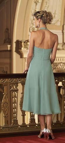 Style Inspiration and Design Grayed Jade - bridesmaid dress