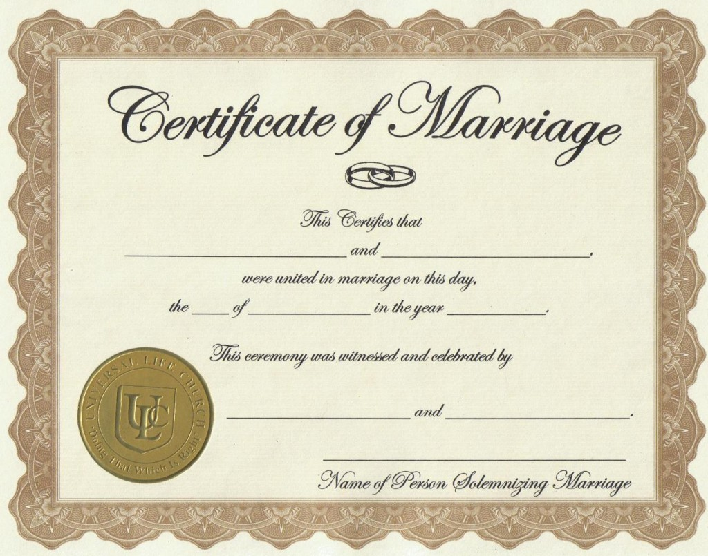 Style Inspiration and Design Marriage License Requirements