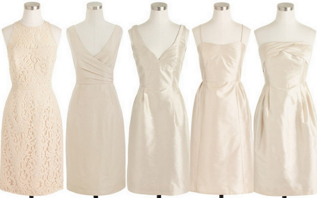 Style, Inspiration, Design Bridesmaid Dress Inspiration, Beige and Neutrals