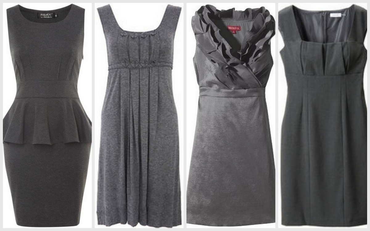 Fall-Winter Bridesmaid Dress Inspiration-Turbulence-Gray