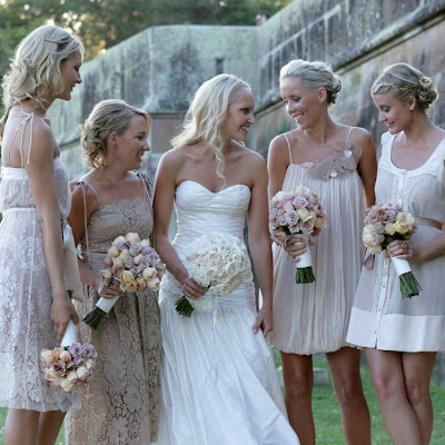 Style, Inspiration, Design, Beige, Neutral, Bridesmaid Dress Inspiration