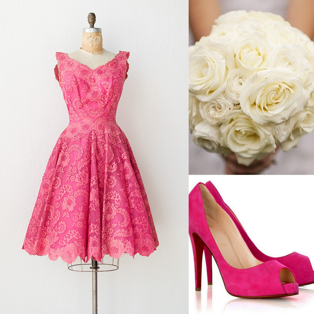 Pink Bridesmaid Dress Inspiration, Style, Inspiration, Lisa Sammons Events