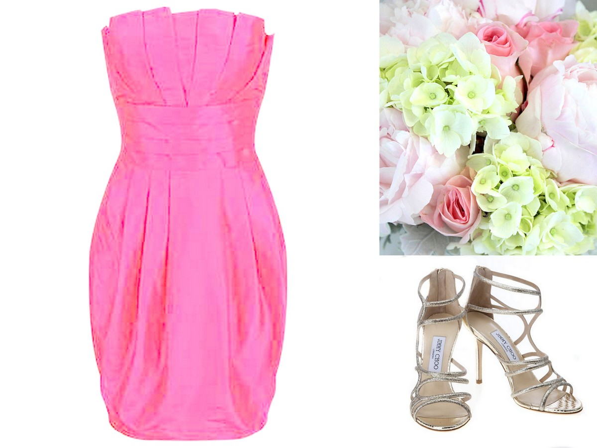 Pink Bridesmaid Dress Inspiration, Style, Inspiration, & Design