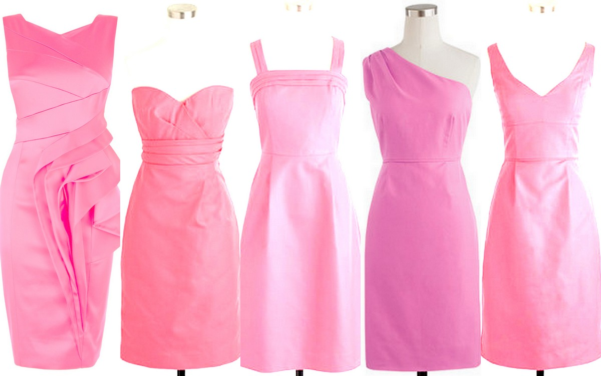 Fall-Winter Bridesmaid Dress Inspiration-Pink
