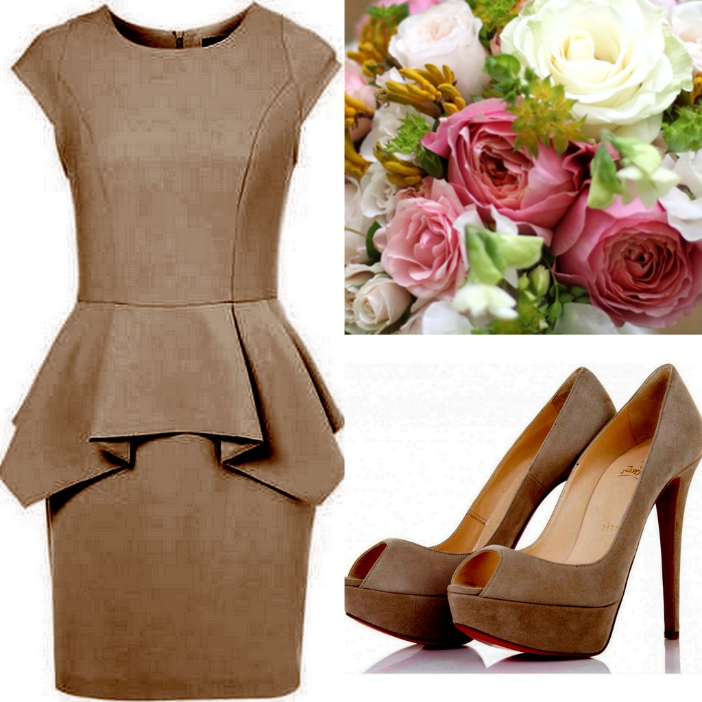 Carafe-Brown Bridesmaid Dress Inspiration, Style, Inspiration, Design, Lisa Sammons Events, Peplum