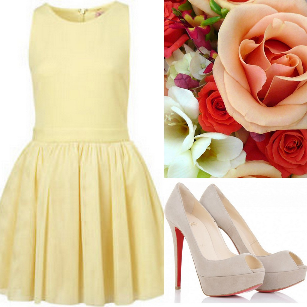 Yellow Bridesmaid Dress Ideas