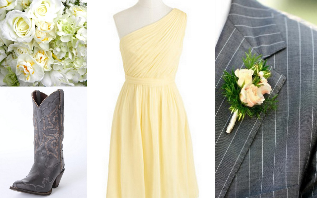 Yellow bridesmaid dressesinspiration wedding styleyellow yellow bridesmaid dress inspiration style inspiration design lisa sammons events ombrellifo Images