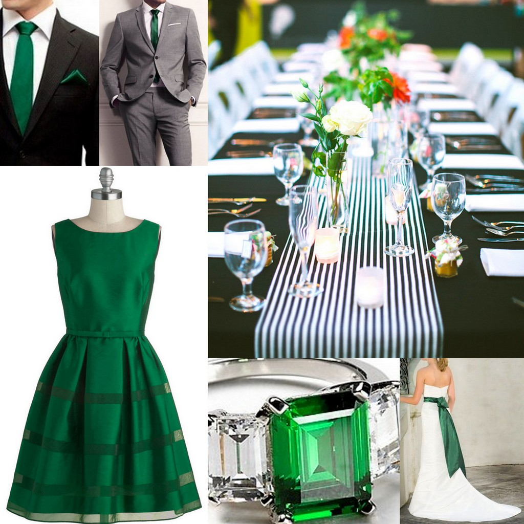 Featured image for 'Emerald Green-Wedding Style-Inspiration and Design' article