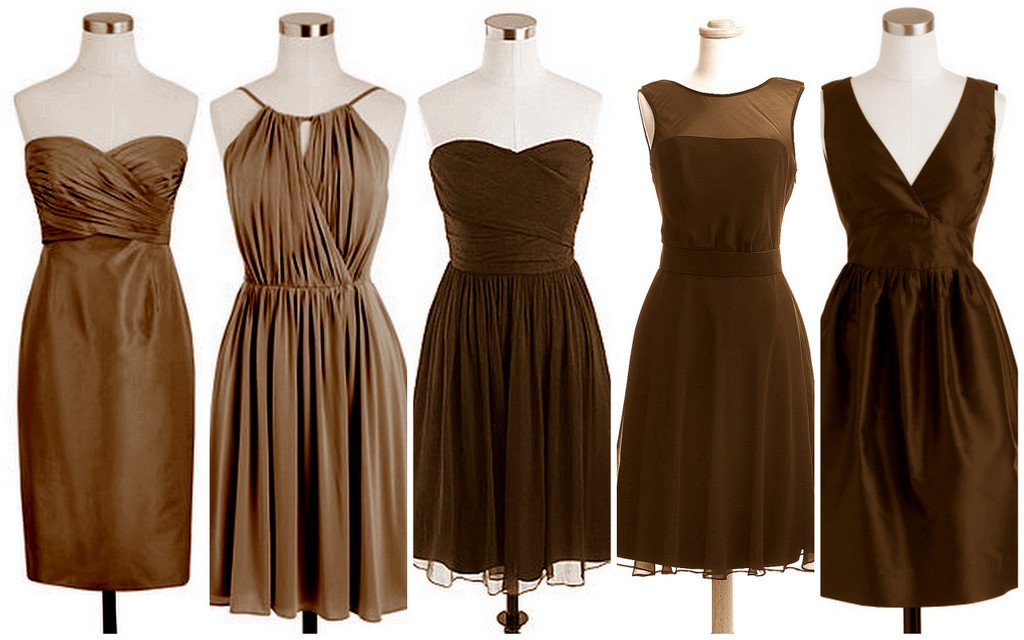Fall and Winter Bridesmaid Dress Ideas-Carafe-Brown