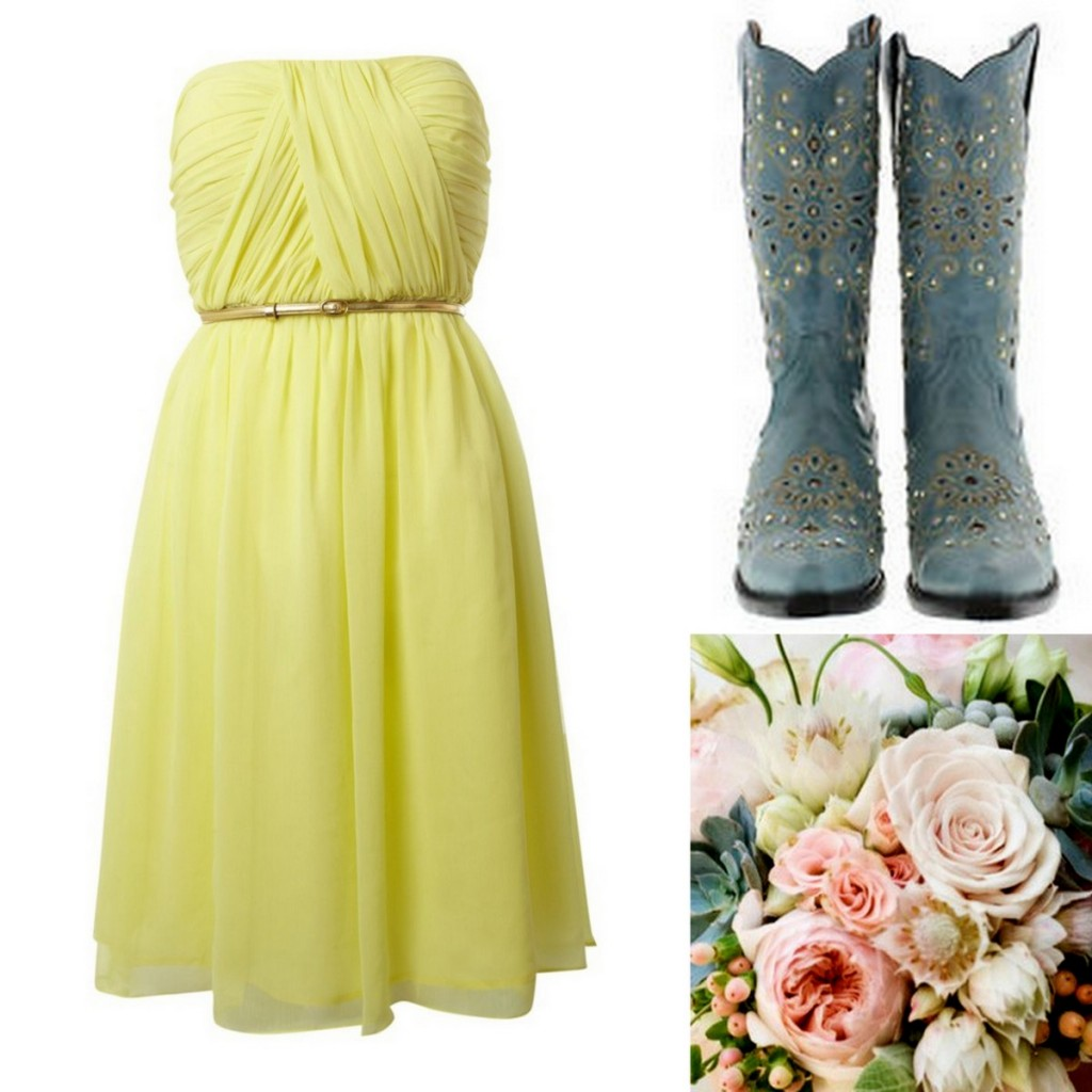 Yellow Bridesmaid Dress Inspiration, Style Inspiration, & Design, Lisa Sammons Events