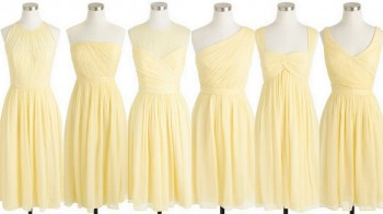 Yellow Bridesmaid Dress Ideas, Style, Inspiration, & Design, Real Planner Advice by Lisa Sammons Events