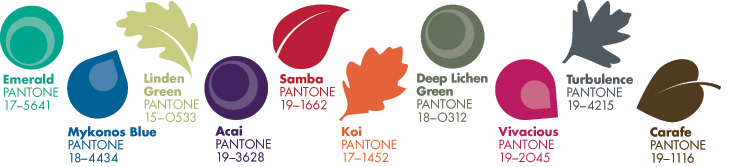 Pantone-Home - Style, Inspiration, Design, Lisa Sammons Events