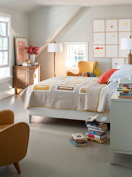 Beige Bedrooms, Pops of Color, Allen Wayside Furniture, Lisa Sammons Events