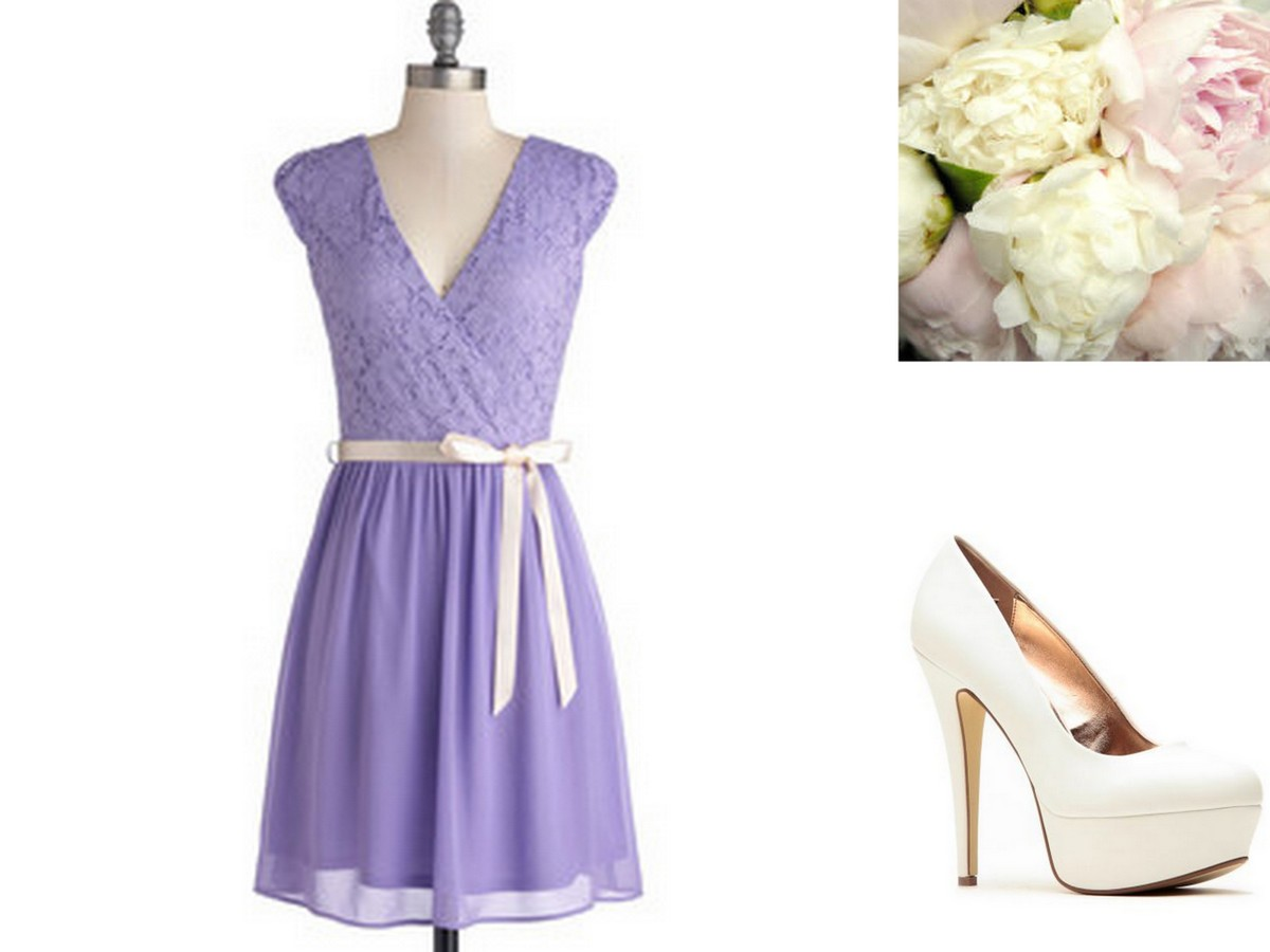 Lavender-Violet-Purple Bridesmaid Dresses