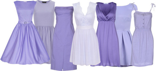 Featured image for 'Inspiration:Lavender & Violet-Purple Bridesmaid Dresses' article
