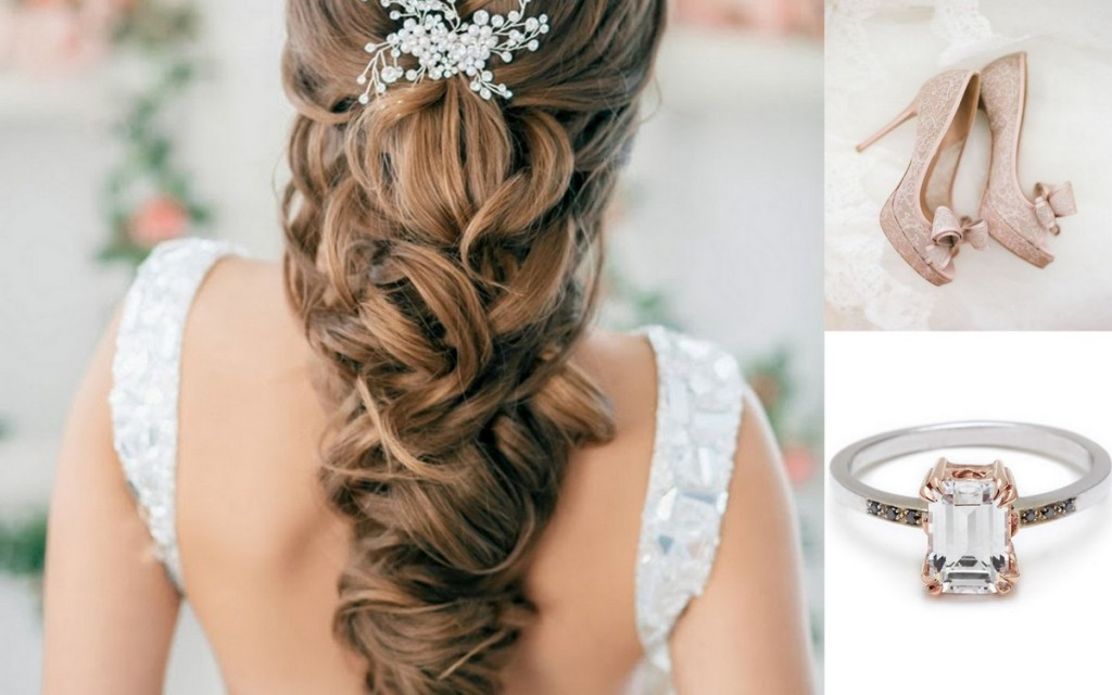 Brides & Grooms paired with Bouquets & Shoes:Wedding Style, Lisa Sammons Events, Wedding Hair ideas, Blush Shoes