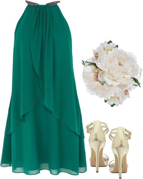 Emerald Green Bridesmaid Dress Inspiration