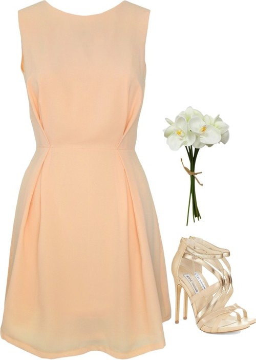 Peach Bridesmaid Dress Inspiration Lisa Sammons Events Weddings New Hampshire York