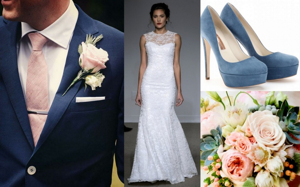 Brides & Grooms paired with Bouquets & Shoes:Wedding Style, Lisa Sammons Events