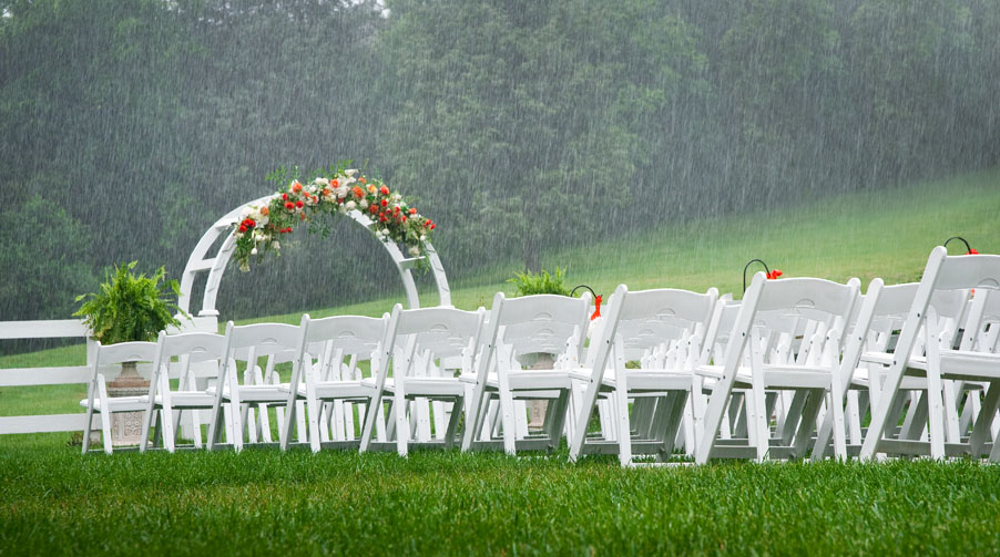 What Happens if it rains on my wedding day? Real Wedding Planner Advice, Lisa Sammons Events