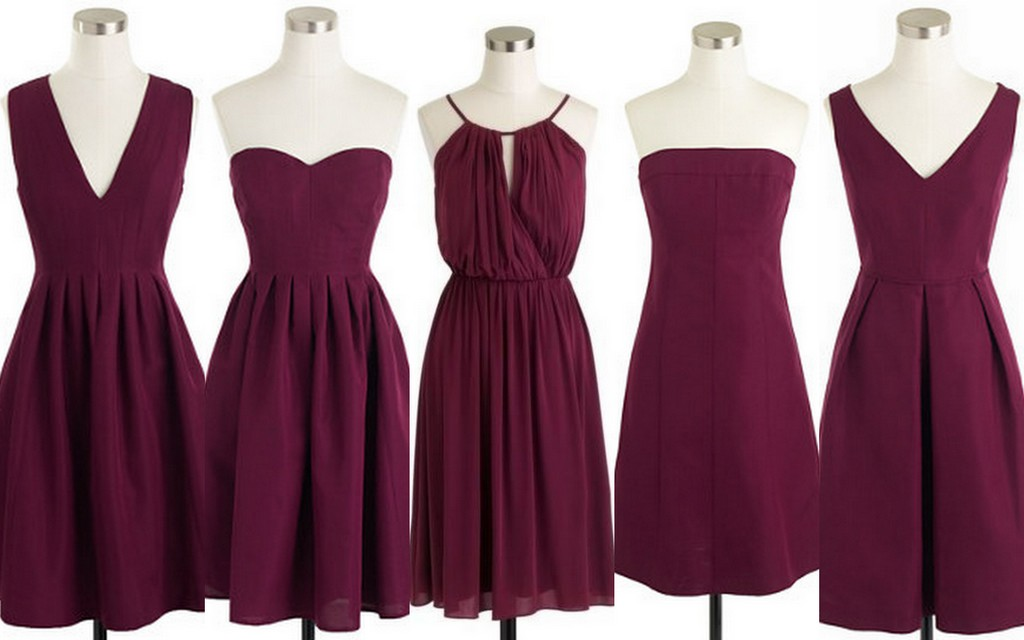 Featured image for 'Fall-Winter Weddings-Cranberry-Red-Burgundy Bridesmaid' article
