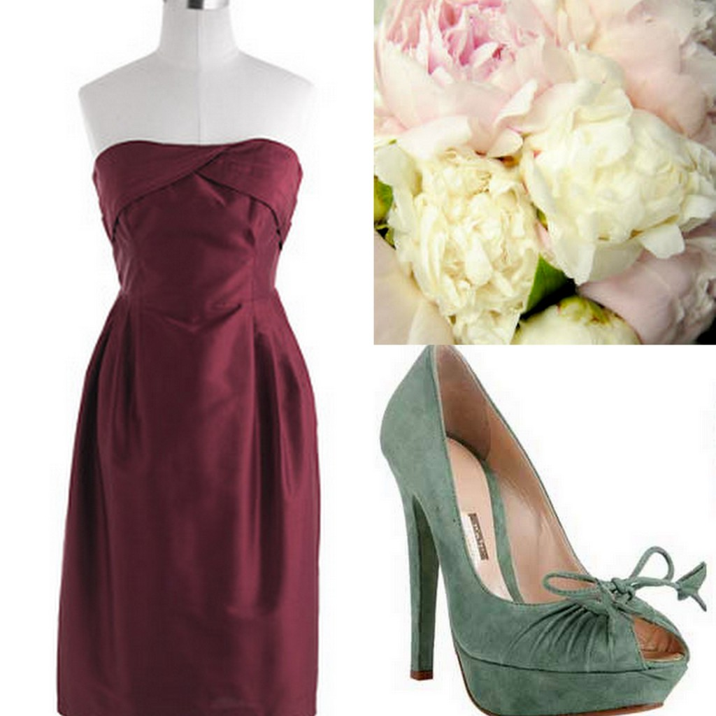 Winter Bridesmaid Dresses Tawny Port