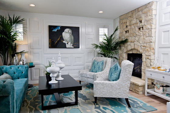 Teal Living Room Ideas Lisa Sammons Events2 (9)
