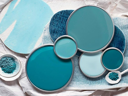 Teal color choices - Lisa Sammons Events