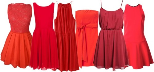 Red Bridesmaid Dresses-Aurora Red-Poppy Red