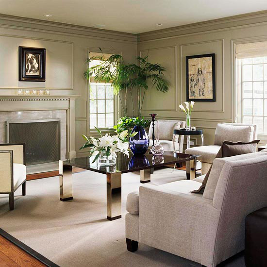 Gray Living Room ideas-article by Lisa Sammons Events 14