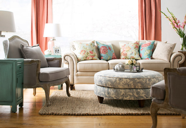Gray Living Room ideas-article by Lisa Sammons Events 21