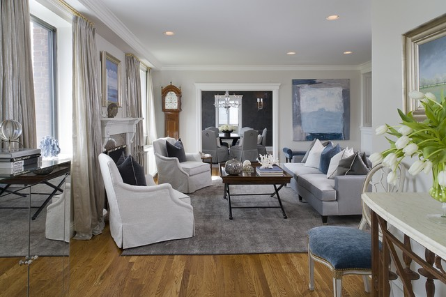 Gray Living Room ideas-article by Lisa Sammons Events-Houzz