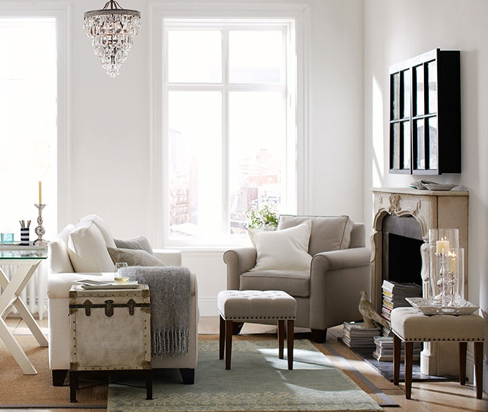 Gray Living Room ideas-article by Lisa Sammons Events small spaces