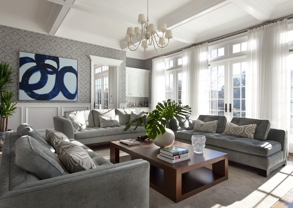Gray Living Room ideas-article by Lisa Sammons Events13