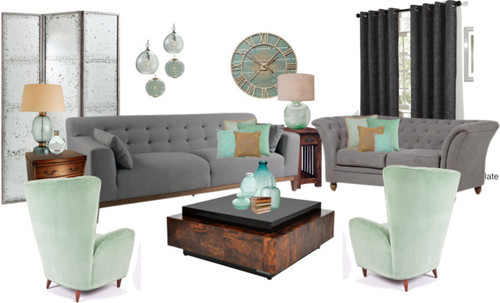 Gray room ideas - by Lisa Sammons Events