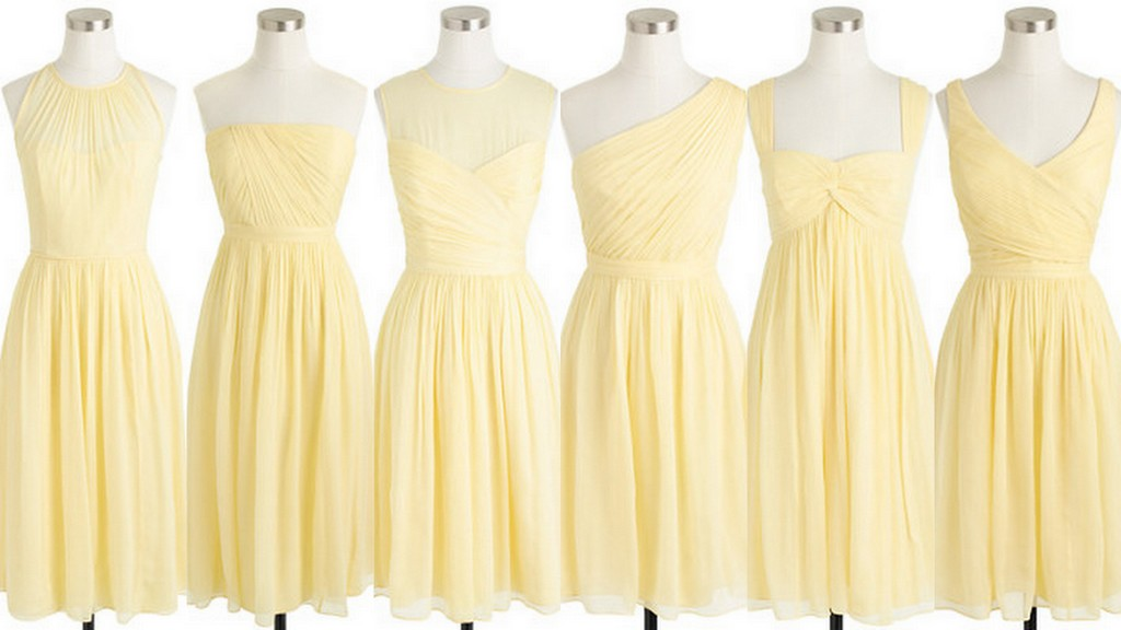 Featured image for 'Yellow Bridesmaid Dress Ideas:Pale Yellow:Country,Contemporary,Elegant' article