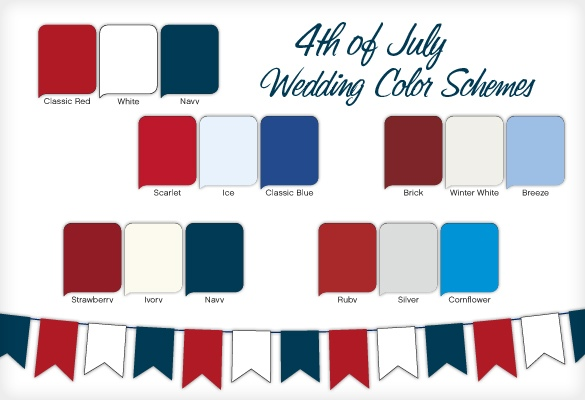 Red-White-and Blue Weddings