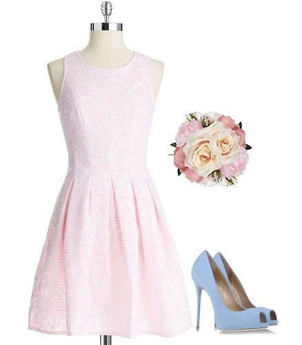 Pale Coral Bridesmaid Dresses