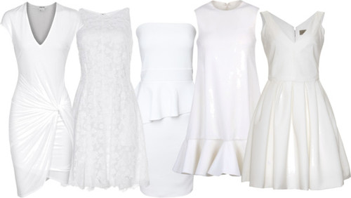 Lovely Rehearsal Dinner Dresses In Shades Of White Ivory: What To Wear To Your Wedding Rehearsal