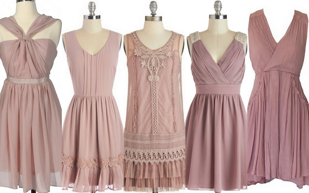 Featured image for 'Fall & Winter Bridesmaid Dress Ideas:Blush Bridesmaid Dresses:Part II' article