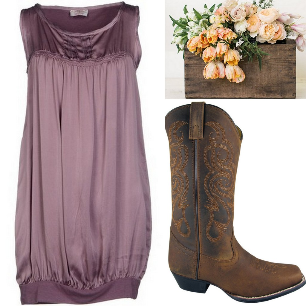 Blush Bridesmaid Dress Ideas with Bouquets & Shoes, Lavender, Rose, Mauve, Country, Rustci