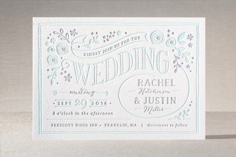 how to order your wedding invitations, Wedding invitations