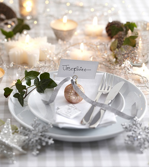 Silver Holiday Table Decor Lisa Sammons Events (2)