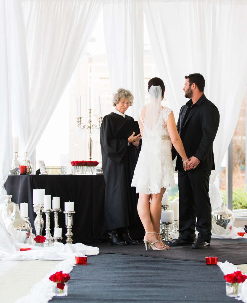 Black, White, Red, Boston Wedding, Lisa Sammons Events, Rodeo & Co. Photography