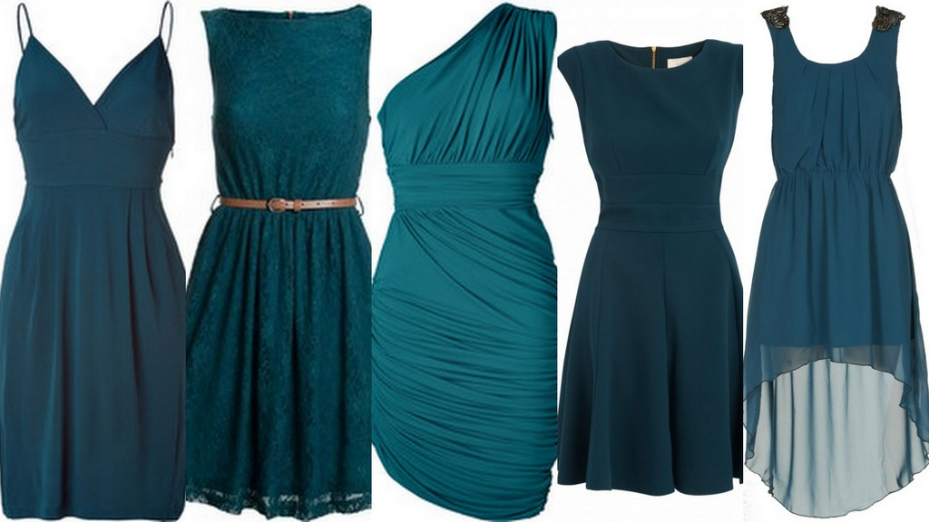 Featured image for 'Teal-Peacock Bridesmaid Dresses-Wedding Inspiration & Ideas' article