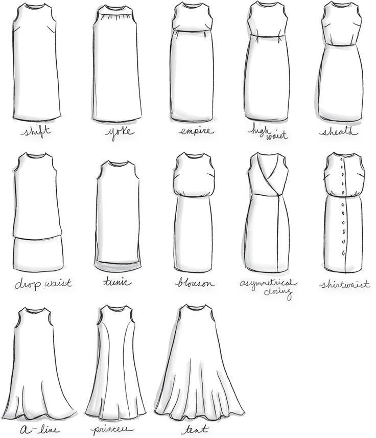 Dress Design Chart - Lisa Sammons Events - 2