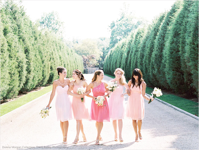 Mixed Bridesmaid Dress Ideas - Coral, Pink, Prints  Lisa Sammons Events, Weddington Way